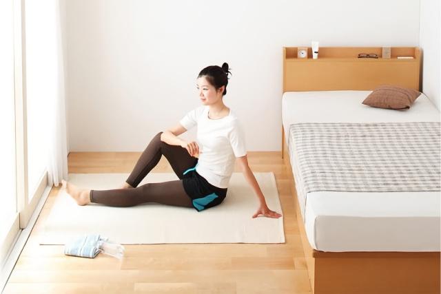 部屋を広く見せるベッドのポイント