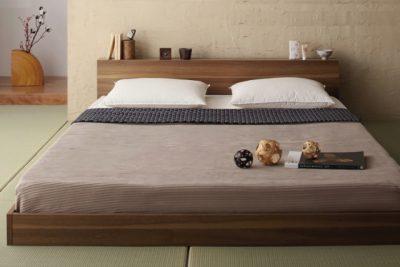 畳にベッド画像