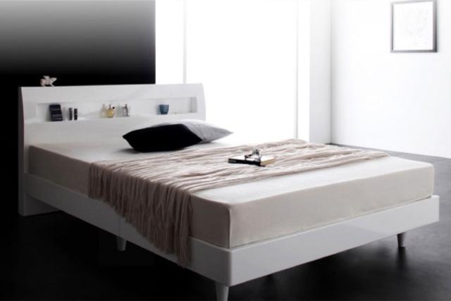 白いベッドのメリット