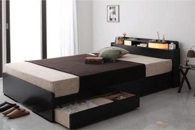 一人暮らし用ベッド