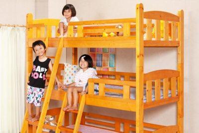三段ベッドのメリット