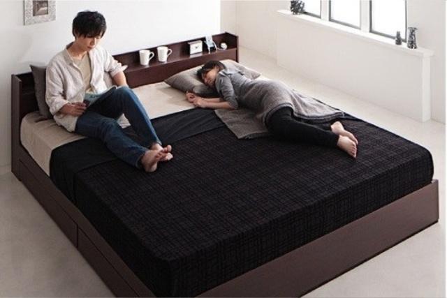 キングサイズベッドを購入